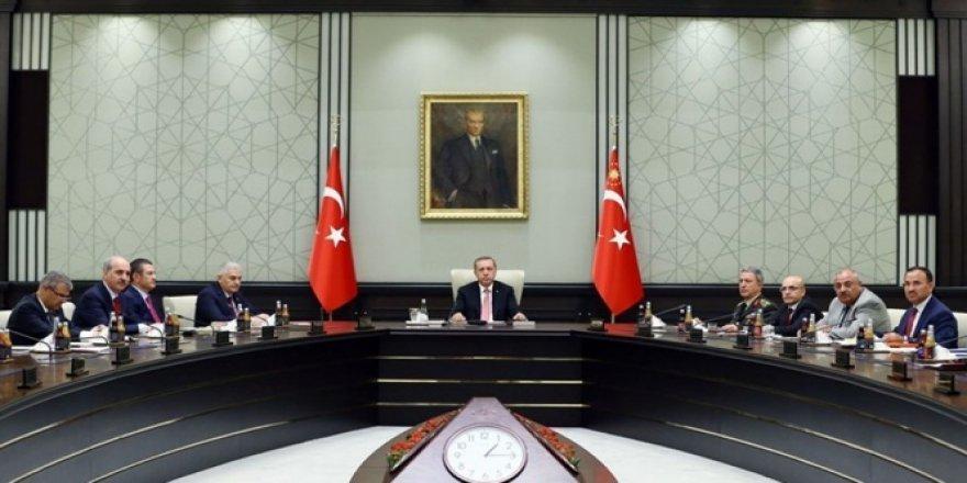 Güvenlik Toplantısı Beştepe'de