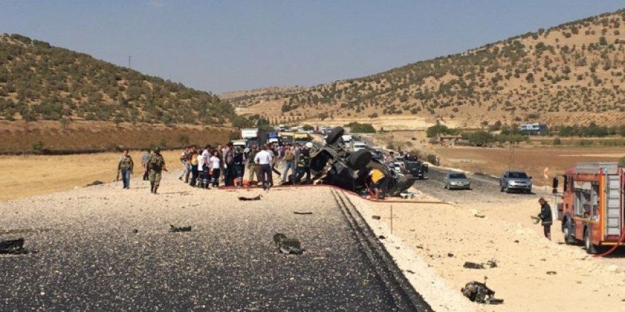 Mardin, Mazıdağı'nda askeri aracın geçişinde patlama: 3 şehit