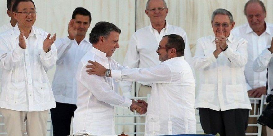 Hükümet ile FARC arasında ateşkes yıl sonuna kadar uzatıldı