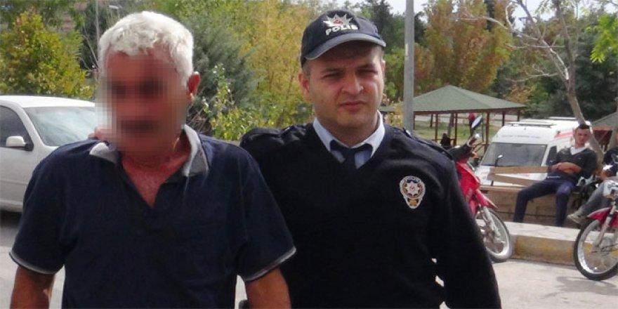 Aksaray'da eski komşusunu taciz eden şüpheli yakalandı