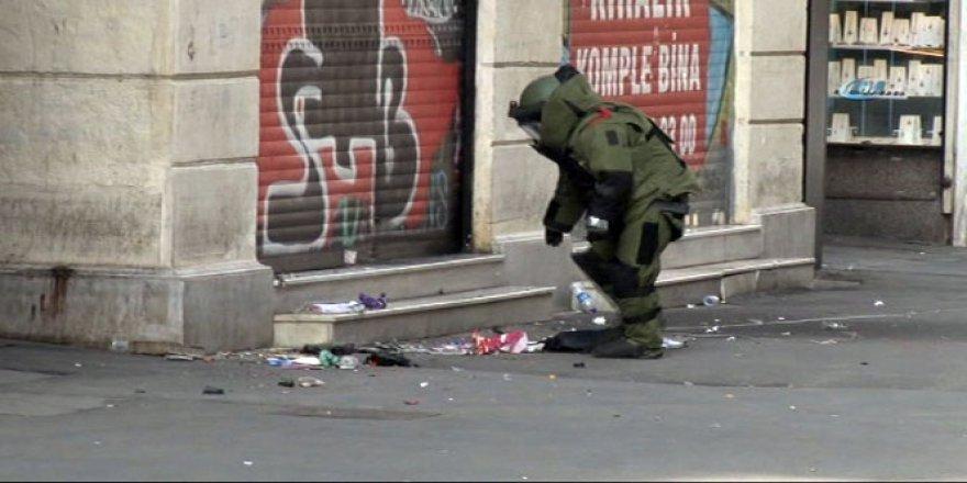 Beyoğlu, İstiklal Caddesi'nde şüpheli çanta paniği