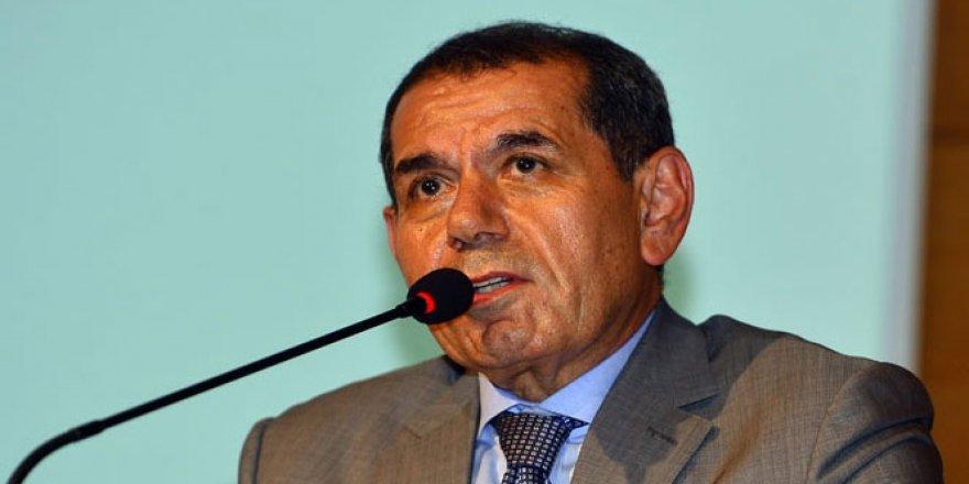 Galatasaray Başkanı Dursun Özbek'ten istifa açıklaması