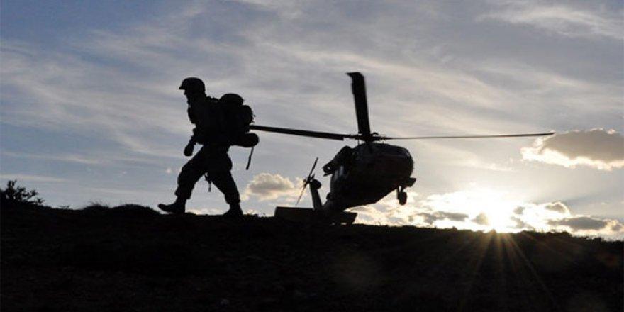 Adıyaman'da PKK'lı Teröristler Ormanı Yakarak Kaçıyor!