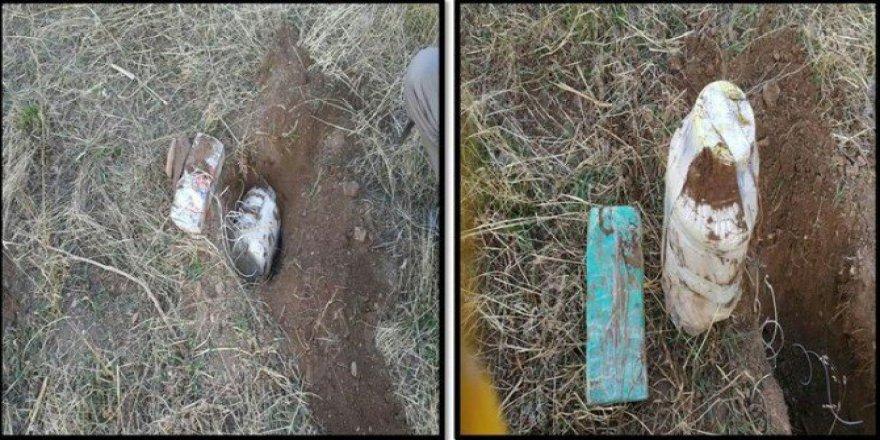 Bitlis, Tatvan Kırsalında Tespit Edilen Patlayıcılar İmha Edildi