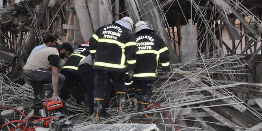 Gaziantep, Nizip'te İnşaatta Göçük: 2 Yaralı