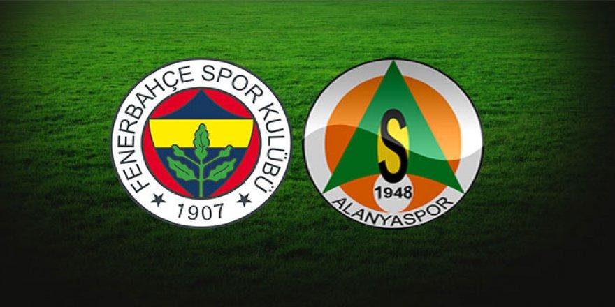 Kadıköy Alanyaspor maçı 11'ler belli oldu