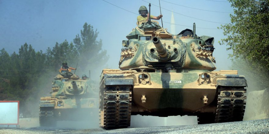 Türkiye Erbil'e doğru hareket ediyor!