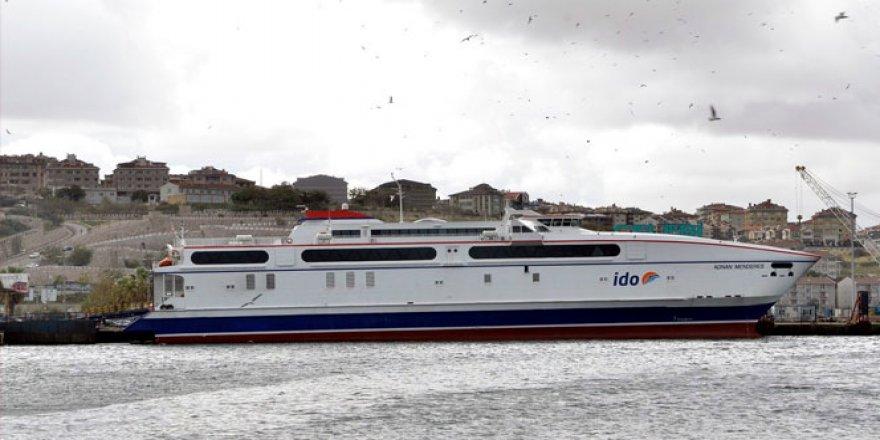 Bandırma'da İDO seferleri iptal edildi
