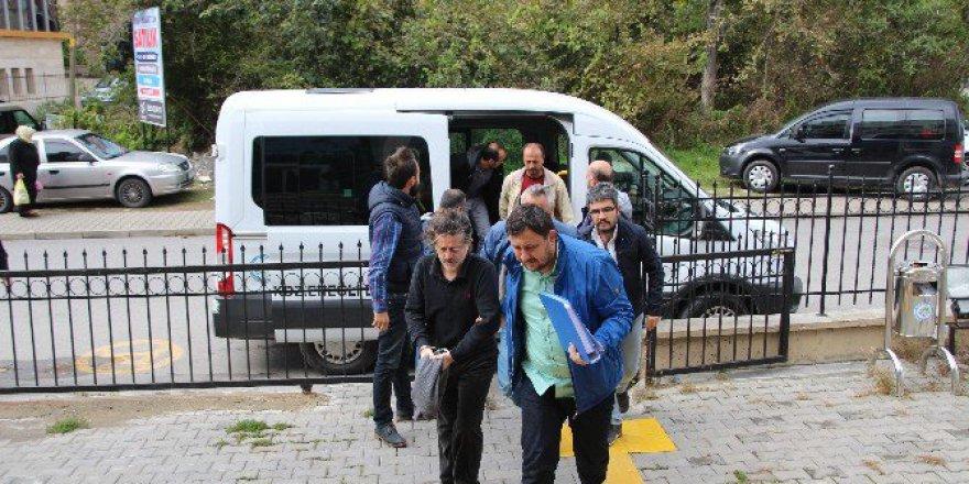 Zonguldak, Ereğli'de 7 Kişi FETÖ'den Adliyeye Sevk Edildi