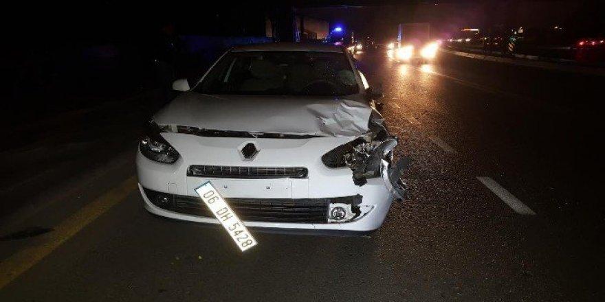 Ankara'da Kaza, Bir Otomobil Yayaya Çarptı: 1 Ölü