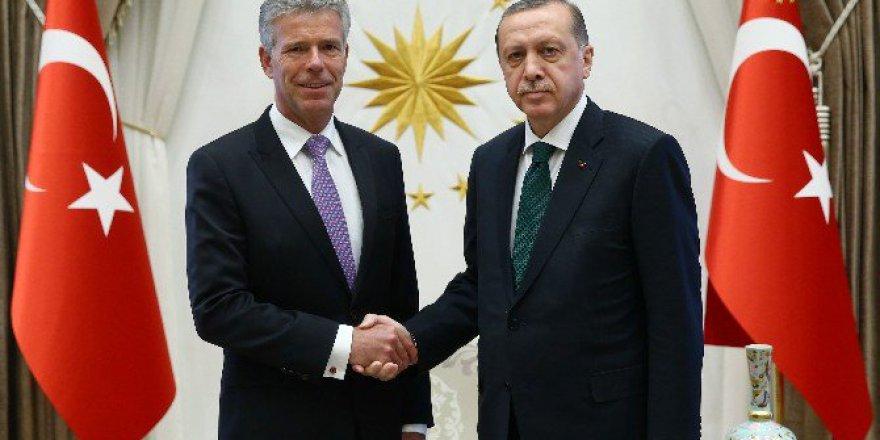 Cumhurbaşkanı Erdoğan, Lüksemburg Büyükelçisi Faber'i Kabul Etti