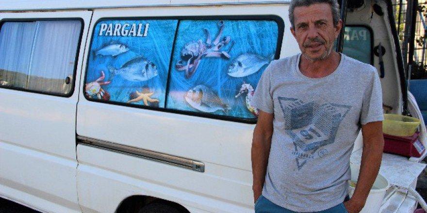 Bodrum'da Pargalı Lakaplı Şahıs Domuzları Balıkla Besliyor