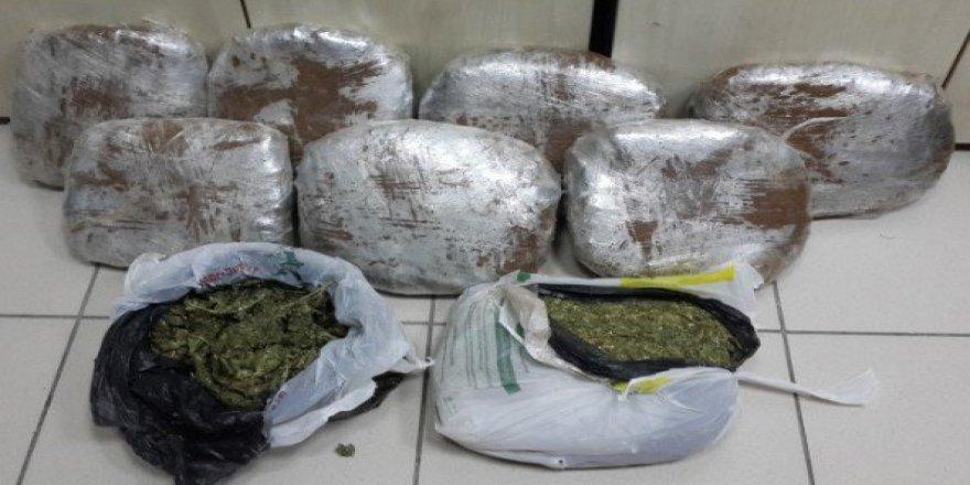 İzmir'de 6 Farklı Adrese Uyuşturucu Operasyonu: 8 Gözaltı