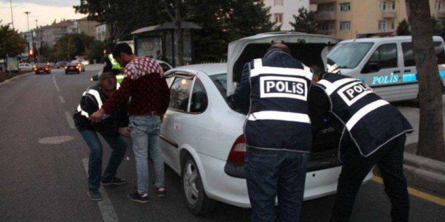 Kırşehir, Kent Mekrezinde 200 Polisle Asayiş Uygulaması