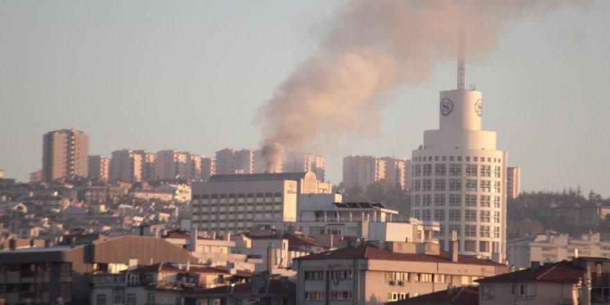 Ankara HiltonSA Oteli'nde Yangın!