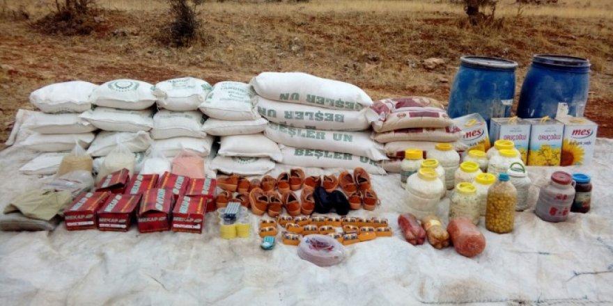 Siirt'te PKK'ya EYP malzemeleri ele geçirildi