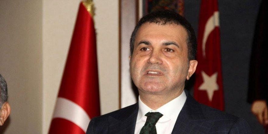 AB Bakanı Ömer Çelik'ten Avrupa'ya 'Vize' Resti