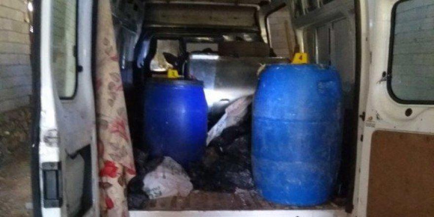 Mardin, Savur'da Bomba Yüklü Minibüs Ele Geçirildi
