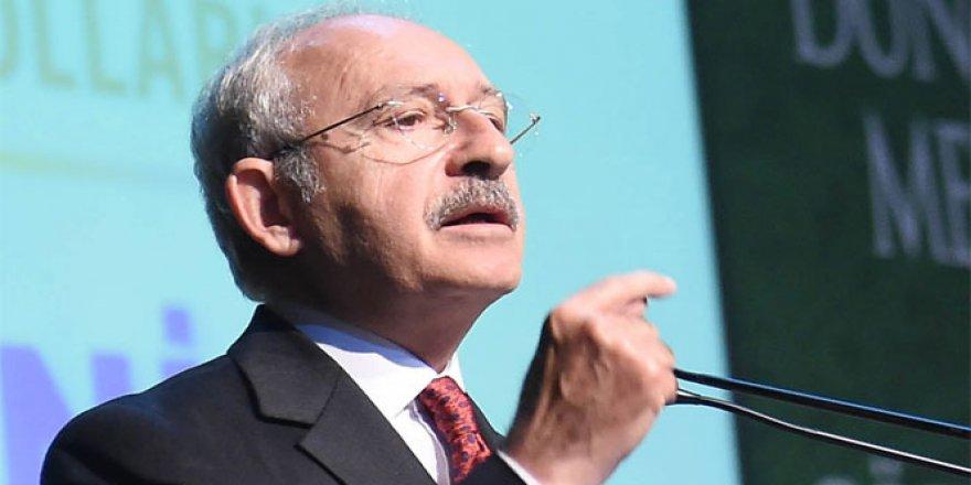 Kılıçdaroğlu: 'Bir kişi milli iradeyi temsil edemez'