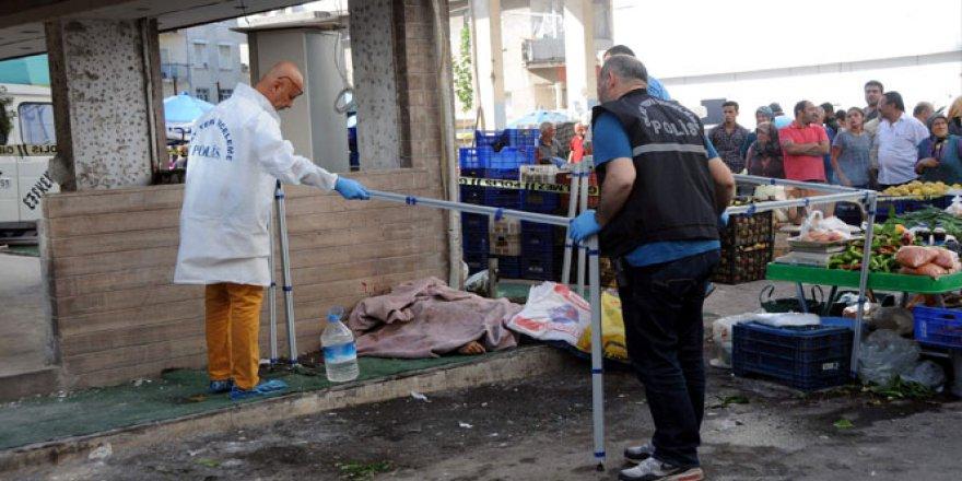 Muratpaşa Kızılsaray mahallesi pazarında pompalı dehşet
