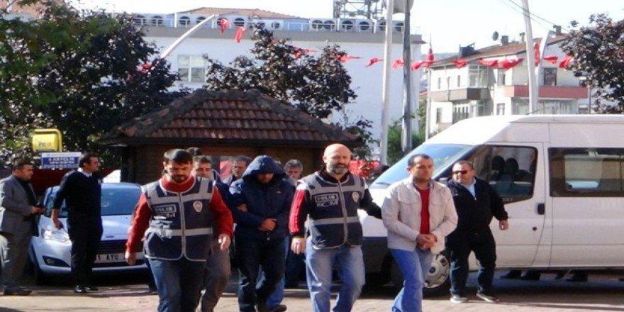 Bartın Merkezli ByLock Soruşturmasında 10 Polis Adliyeye Çıkartıldı