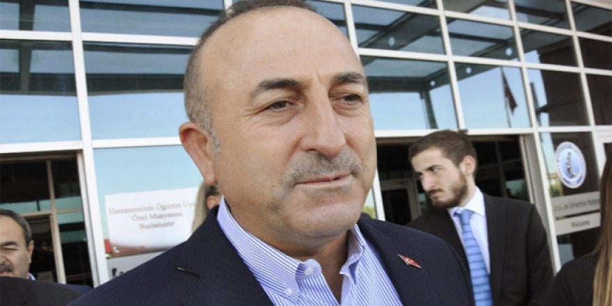 Çavuşoğlu'ndan sert Kerkük açıklaması: Oldu bittiye izin vermeyiz