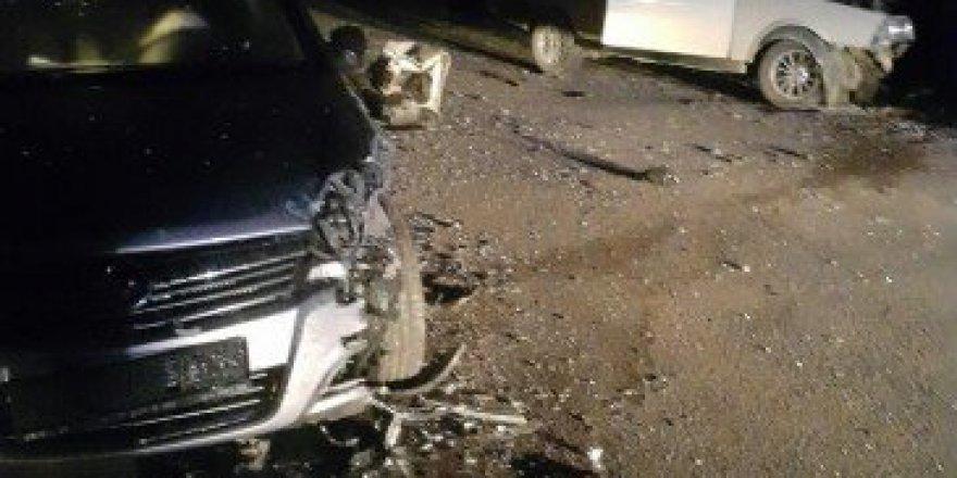 Bartın-Kozcağız Yolunda Trafik Kazası 2 Yaralı