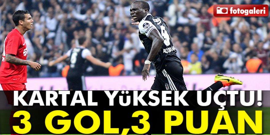 Beşiktaş Antalyaspor maçı özet ve goller