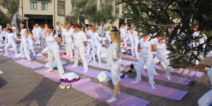 Balıkesir, Edremit'te Uluslararası 3. Yoga Festivali