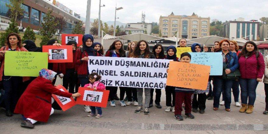 Karabük'te Çocuk İstismarına Ve Kadına Yönelik Şiddete Karşı Basın Açıklaması