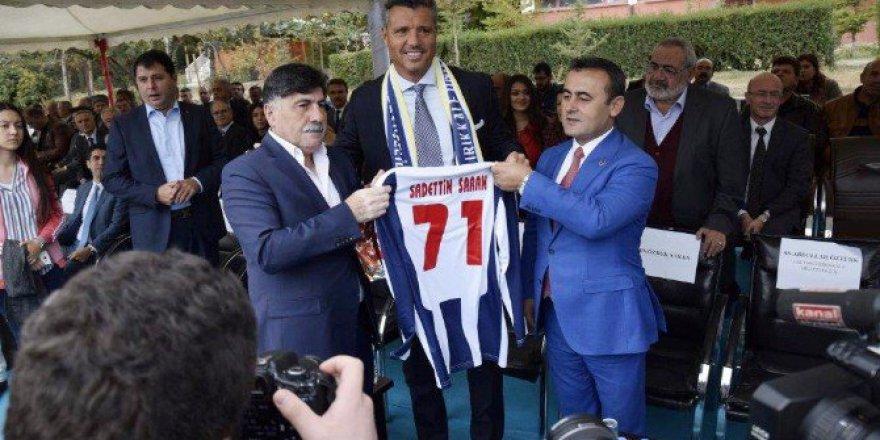 Sadettin Saran'dan Ali Koç'a Destek