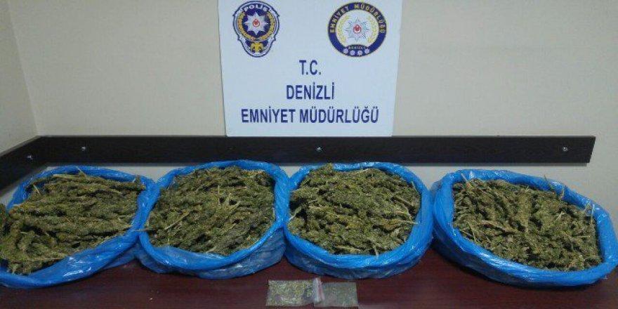 Denizli'de Uyuşturucu Operasyonunda 7 Kişi Tutuklandı