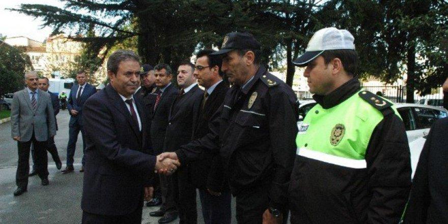 Sakarya'nın Yeni Emniyet Müdürü Eyüp Pınarbaşı Görevine Başladı