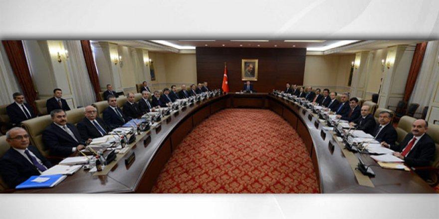 14.30'da Başlayan Bakanlar Kurulu Toplantısı Sona Erdi
