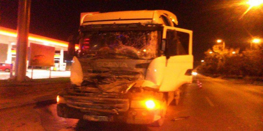 Ankara'da Trafik Kazası: 1 Yaralı