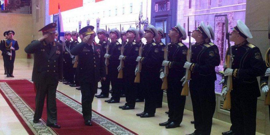 Genelkurmay Başkanı Orgeneral Hulusi Akar Rusya'da
