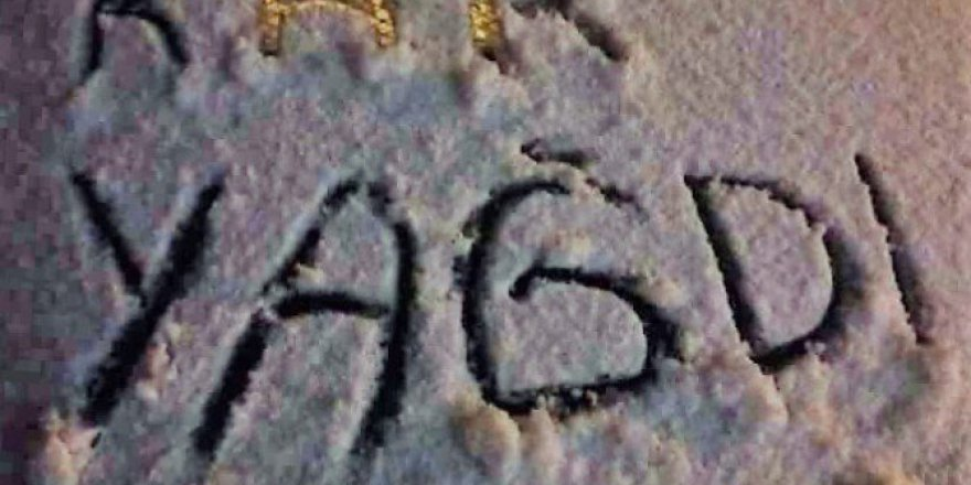 Kırşehir'de Yılın İlk Kar Yağışı