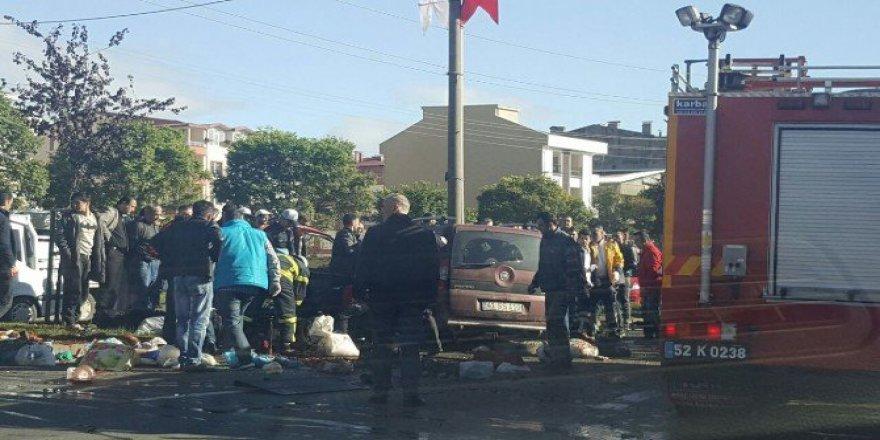 Ordu, Altınordu'da Trafik Kazası: 1 Ölü, 6 Yaralı