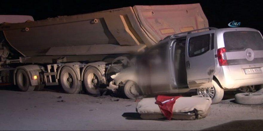 Eyüp'te kaza! Caner Şen ve Uğur Özdemir öldü