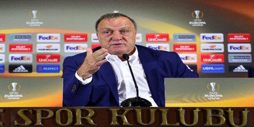 """Fenerbahçe Teknik Direktörü Dick Advocaat: """"4-5 Gol Atabilirdik"""""""