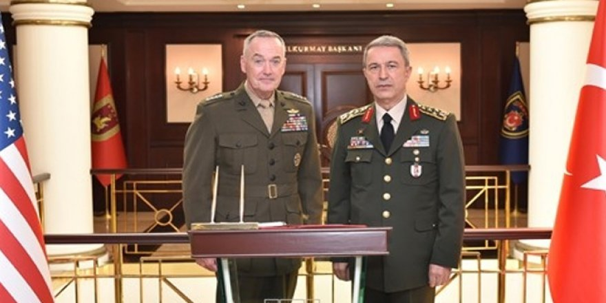 ABD Genelkurmay Başkanı Ankara'da