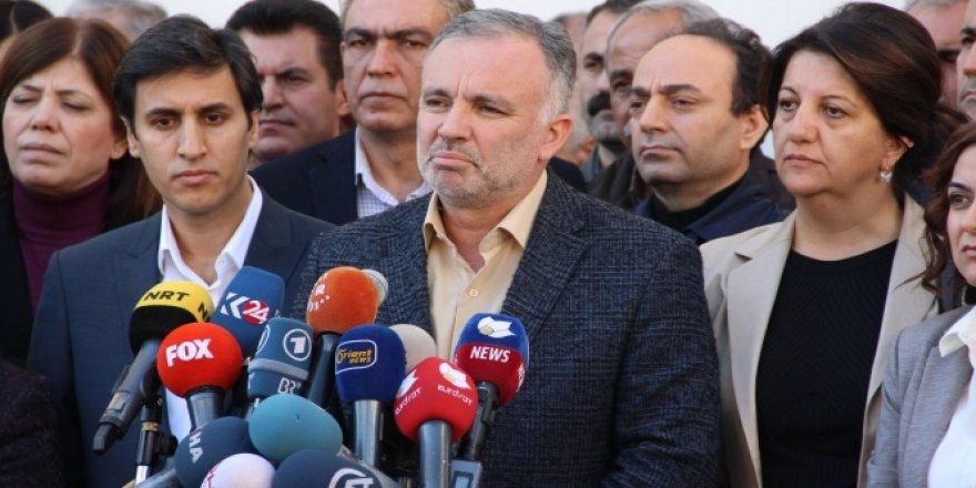 HDP Yasama çalışmalarına Son verdi!