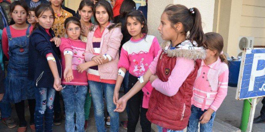 Şanlıurfa, Siverek'te 27 Öğrenci Hastaneye Kaldırıldı
