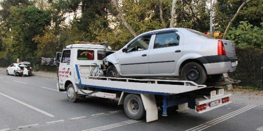 Sarıyer Maslak'ta Trafik Kazası: 6 Yaralı