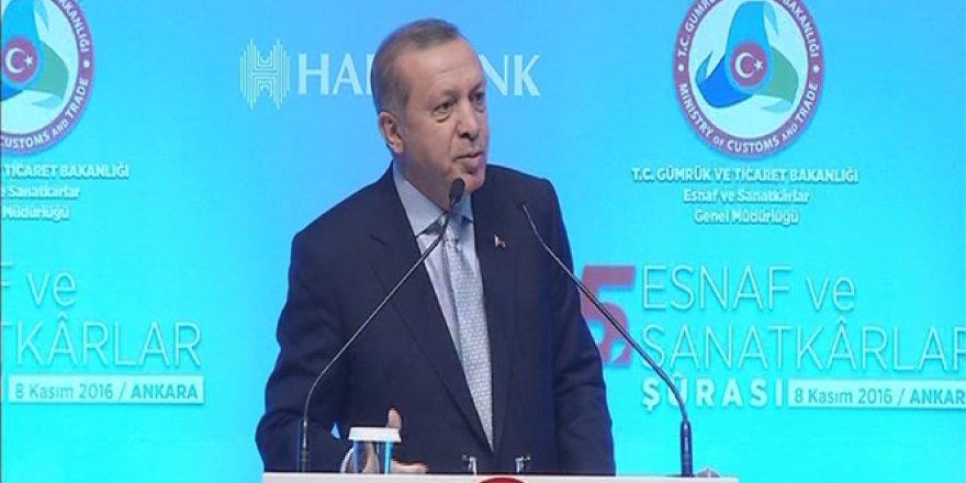 Cumhurbaşkanı Erdoğan Batı'yı topa tuttu