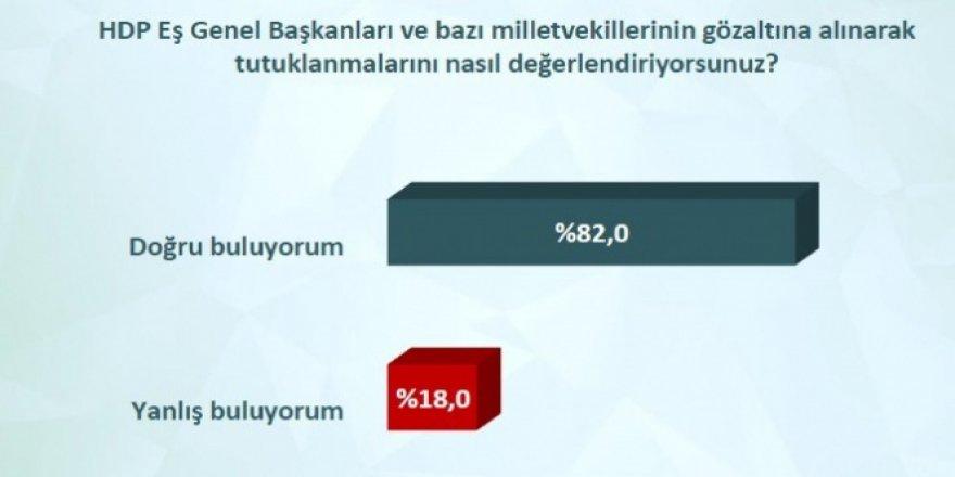 HDP'lilerin tutuklanmasına halk desteği