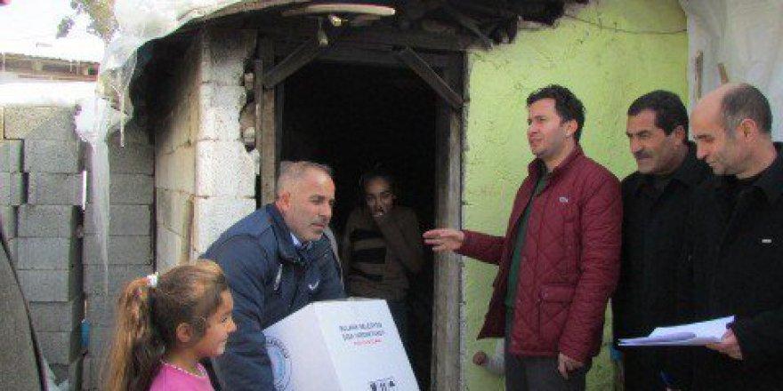 Muş, Bulanık Belediyesinden 2 Bin 500 Aileye Gıda Yardımı