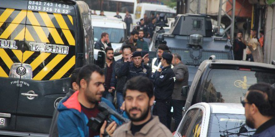Gaziantep Polisinden Şok Uygulama! Ara Sokaklar Bile Tutuldu