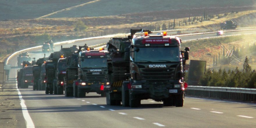 Silopi Sınırına Askeri Sevkiyat Devam Ediyor