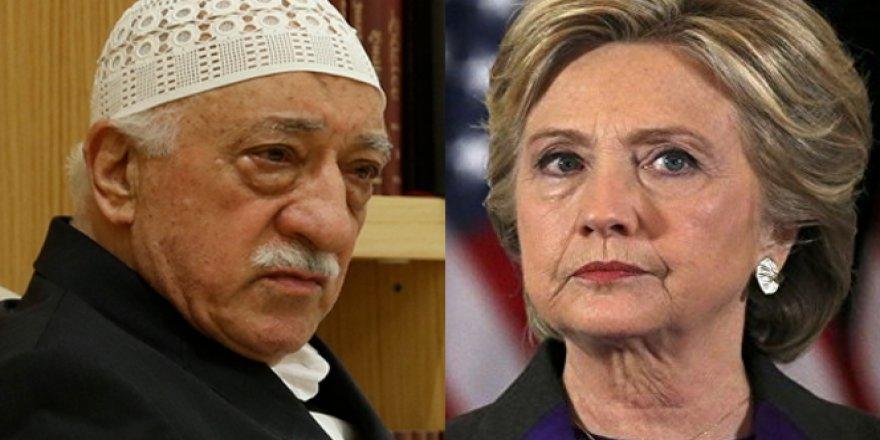 'FETÖ, Clinton ile görüşme yaptı mı?'